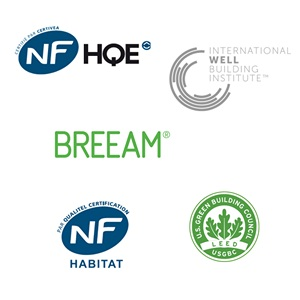 Certifications HQE BREEAM HetE