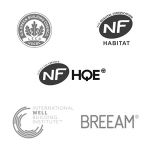 Certifications HQE BREEAM H&E